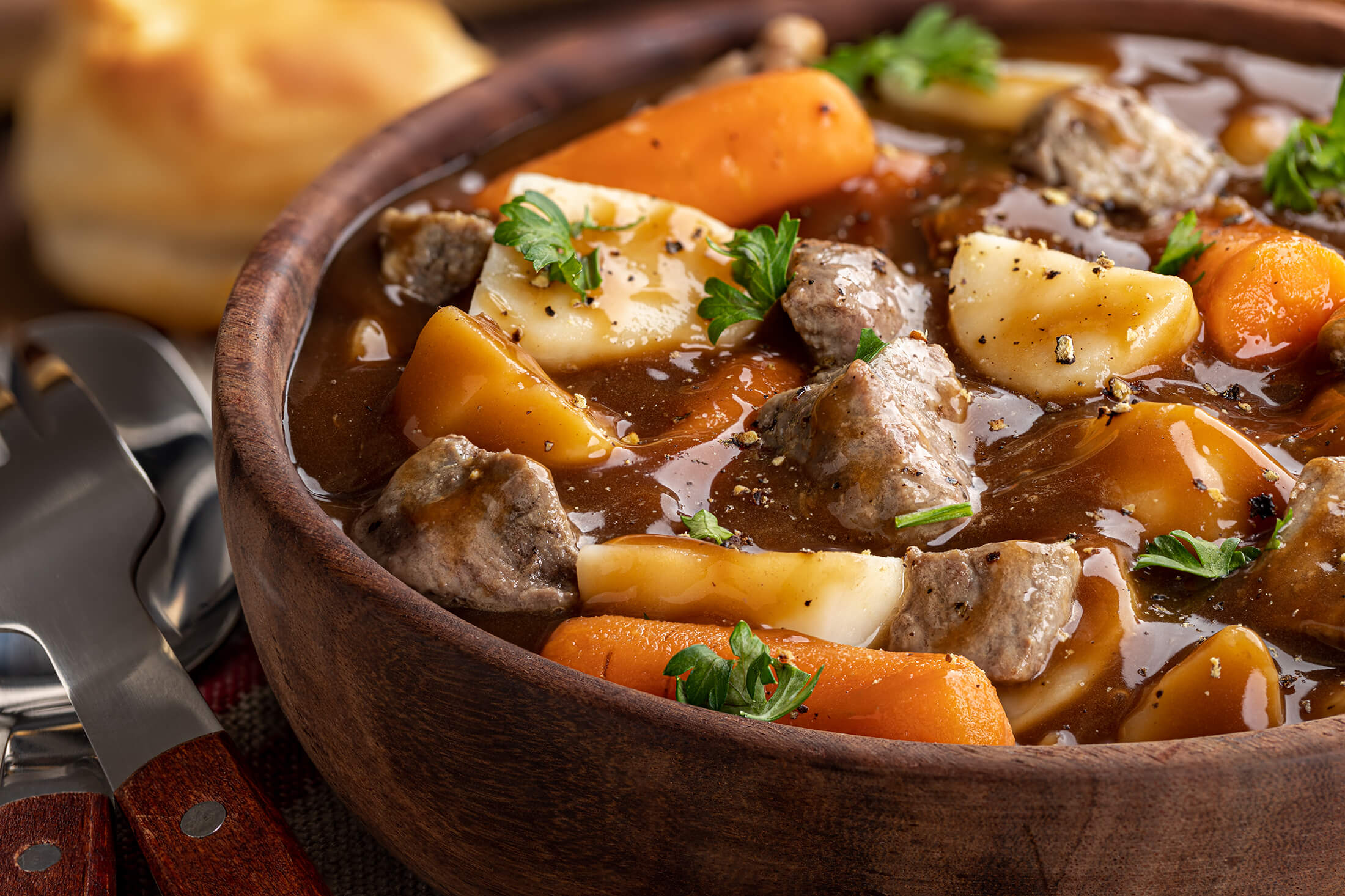 A nice bowl of stew